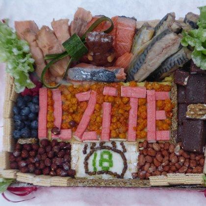 Katru gadu Ilzīte saņem īpašu, savas audžumammas Velgas Vītolas, gatavotu torti!