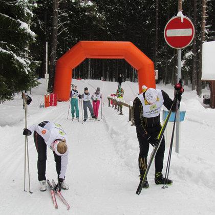 Laimīgie un nedaudz nogurušie dalībnieki veiksmīgi sasnieguši finišu