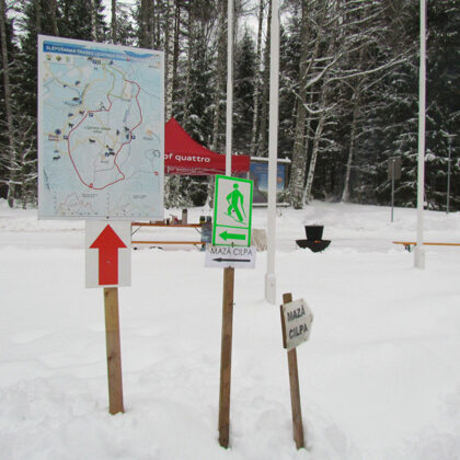 Līgatnē aizvadīts Gaujas NP un Dabas aizsardzības pārvaldes rīkotais Meža biatlons